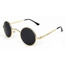 Small Round Steampunk / Gothic Sunglasses
